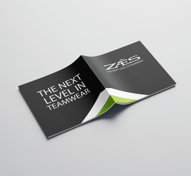 ZAES voor- en achterkant brochure